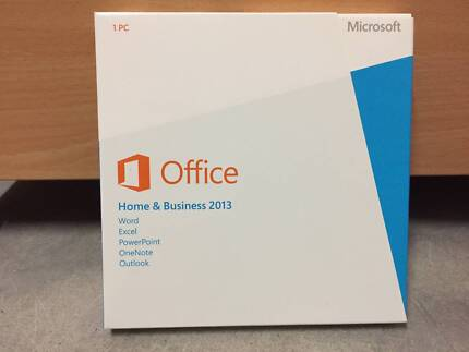 Microsoft Office 2013 Home and Business, DVD with product key