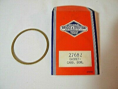 Vintage Briggs and Stratton Gasket - Carburetor Carb. Bowl - P#27682 NOS Briggs & Stratton Gasket
