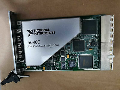 100 Test National Instruments Ni Pxi-6040e Multifunction Io Card