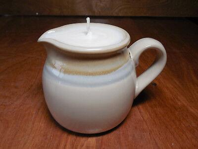 Noritake Stoneware PAINTED DESERT Candle in a Creamer 4