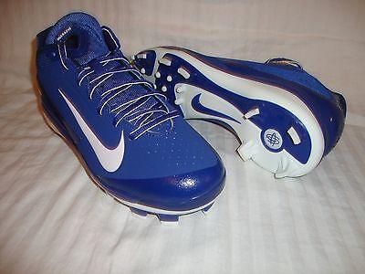 New Nike 616922 Men's Air Huarache MCS Low Molded Baseball Cleats Size 9.5 Royal