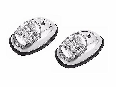 Marine LED Navigation Light Stainless Steel-12V- Side Lights for Boat - BC-2890