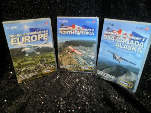Flight1 Ground Environment ALASKA EUROPE N AMERICA Microsoft Flight Simulator X