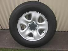 "Suzuki 16"" steel wheels  & tyres x 4 Bolwarra Heights Maitland Area Preview"