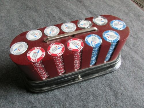 WORLD POKER TOUR SUPER POKER CHIP SET W/2 DECKS OF CARDS, 300 SEALED   ATL-03617