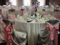 Chair Covers and Table Cloths Rentals