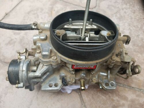 Carburetor-Performer Series Edelbrock 1405 600cfm 4bbl carb with electric choke