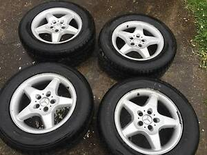 Mercedes RIMS AND NEW TYRES 275/55R17 PREMIUM SUV Greystanes Parramatta Area Preview