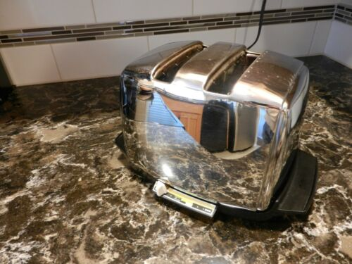VTG MCM Sunbeam Automatic Radiant Control Toaster w/ Auto Drop