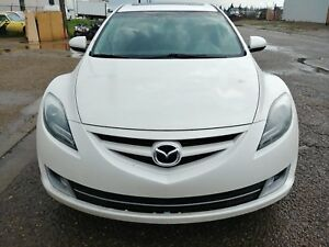 2012 Mazda 6 GT fully loaded leather seats