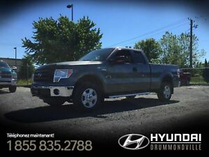 FORD F-150 XLT 4X4 SUPERCAB + MAGS + A/C + CAMÉRA + WOW !
