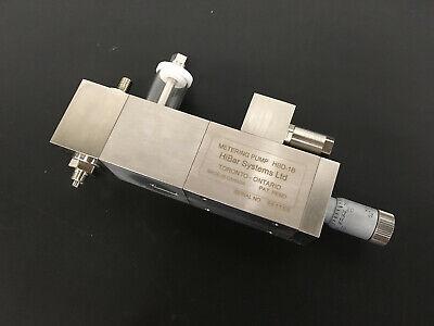 Hibar Systems B-series Check Valve Metering Pump -- Hdb-1b -- 3s Size