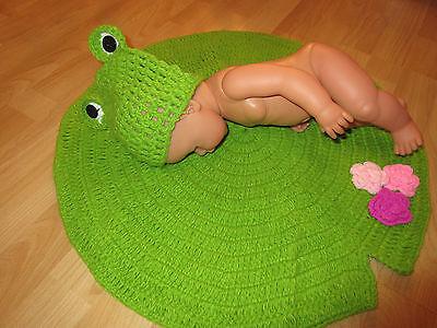 Baby Fotografie Frosch Kostüm Baby Fotoshooting Neugeborene Set - Neugeborene Frosch Kostüme