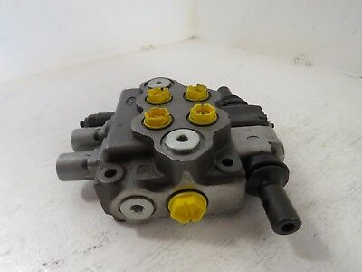 Walvoil 2-spool Hydraulic Control Valve 7gh121201-h New