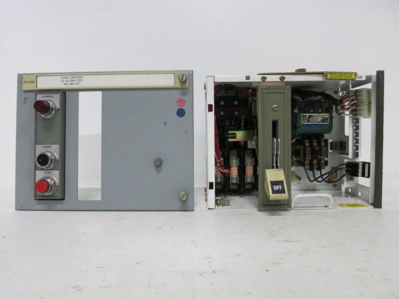 "Siemens Tiastar Furnas System 89 Size 1 Starter 30 Amp Fused 12"" MCC Bucket 30A"