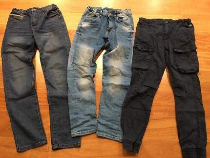 Boys jeans pants size 10 - Industrie, H&M, Mooks