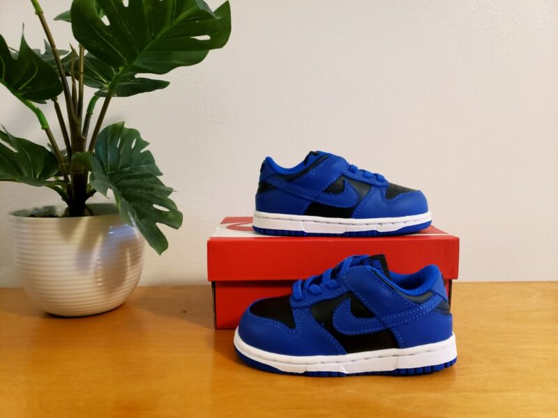 Nike Dunk Low Cobalt Toddler (TD) Size 4c 5c 6c 7c 8c CW1589-001 - AUTHENTIC