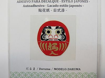 JAPAN DAISO DARUMA small transcription sticker decal Made in JAPAN