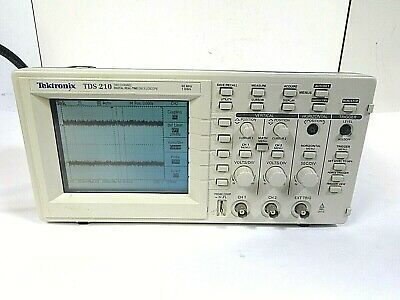 Tektronix Tds 210 - 2 Channel Digital Real-time Oscilloscope 60mhz - 1gss