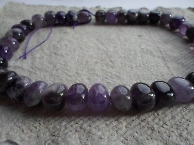 """16"""" Strand of Side Drilled Amethyst nuggets~ Beads"""