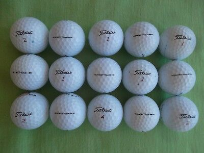15 Golf Balls - Titlesist NXT Tour - AAAA