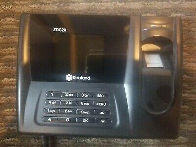 Realand Zdc20 Fingerprint Time Clock Attendance Biometric Time Attendance...