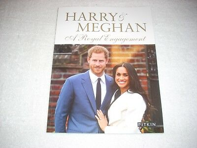 Book Royal Family Souvenir Issue Prince Harry & Meghan Markle Engagement 2018