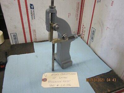 Atlas Craftsman 12 Lathe Follower Rest L4-396