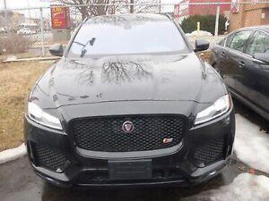2018 Jaguar F-Pace S & AWD & NAVI & 360 CAM & PANO ROOF