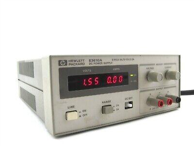 Agilent Hewlett Packard Hp E3610a Dc Power Supply 0-8v 0-3a0-15v 0-2a 30w