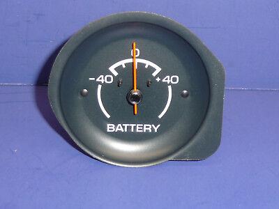 Original Rebuilt & Restored 1975 1976 Corvette Battery Gauge NCRS