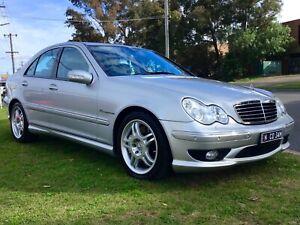 2003 Mercedes-Benz C32 AMG 260kw V6 Supercharged Auto As New Sports Sedan Warranty