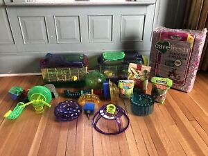 Hamster Cage / habitat and accessories