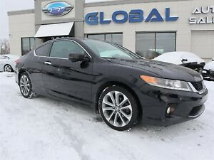 2015 Honda Accord EX-L V6 Coupe 6 SPEED WITH NAVIGATION.