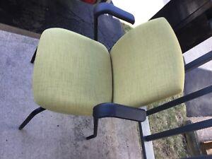 Citrus green office chair