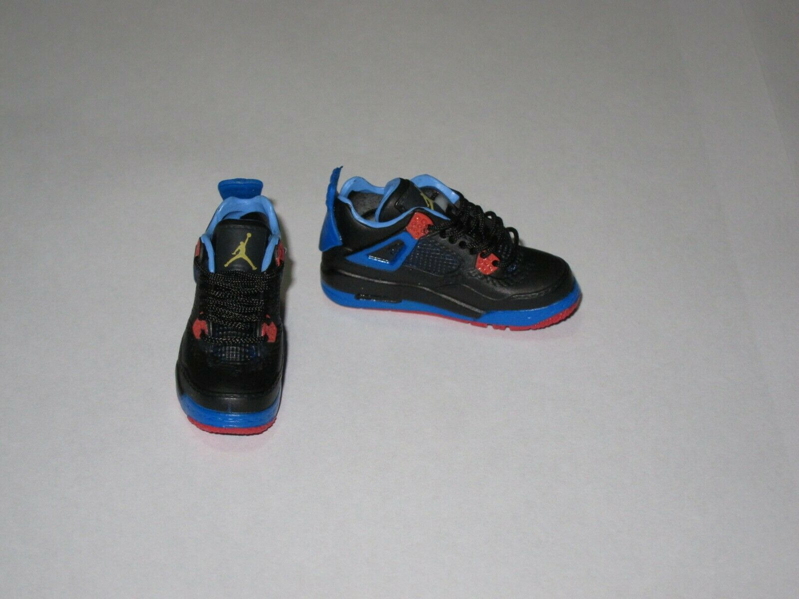 """1/6 Scale Sneakers Sports Shoes Trainers Air AJ4 Blue for 12"""" Action figure"""