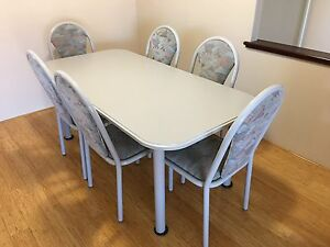 Dining Table & 6 Chairs Woodvale Joondalup Area Preview