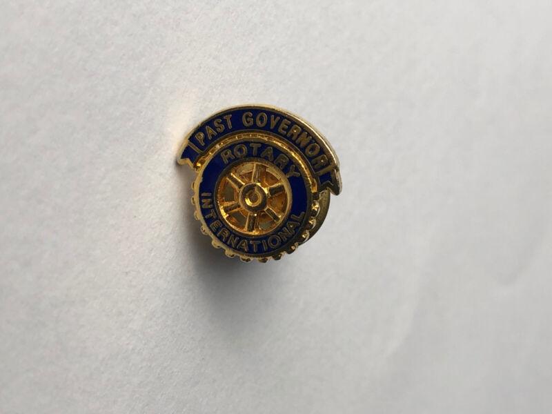 Rotary International Past Governor Pin/tie Tack