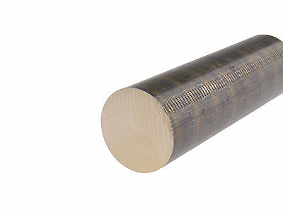 932 Sae 660 Bronze Round Bar Stock Bearings And Bushings 2.5 Length Usa Made