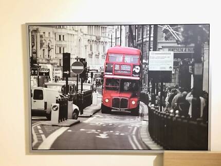 Red London Bus picture   Picture Frames   Gumtree Australia Inner ...