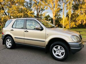 2001 Mercedes-Benz ML 320 Wagon 4x4 Low Kms 7Seats Logbooks Long Rego