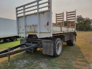 2012 BANMERE 2 AXLE BEAVER TAIL PLANT DOG TRAILER Noosaville Noosa Area Preview