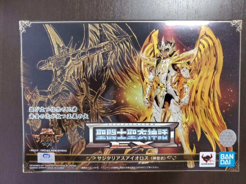 Bandai Saint Seiya God Cloth Myth EX Sagittarius Aiolos Soul of Gold SOG Figure