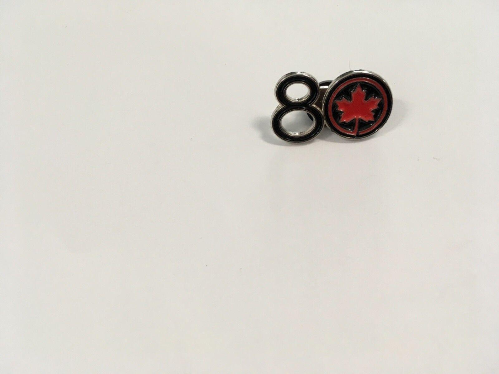 Air Canada 80 yrs Lapel Pin