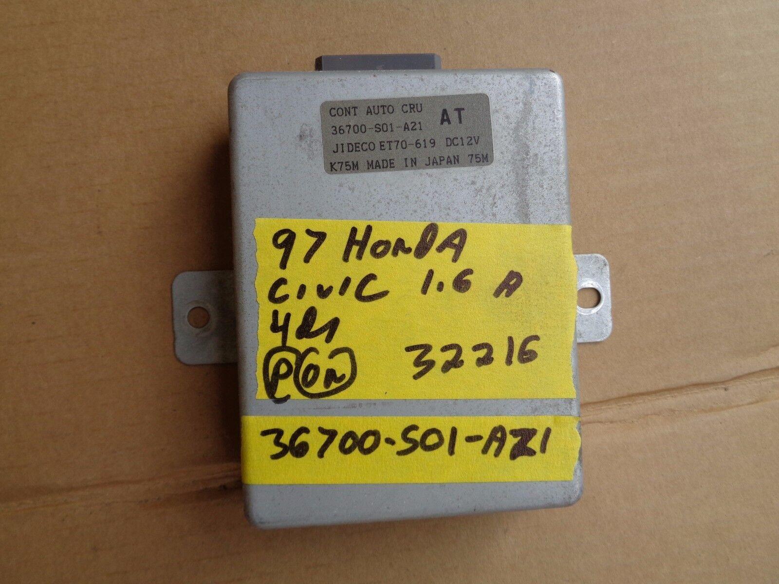 1997 honda civic cruise control modual computer 32216-7a b117 computor module