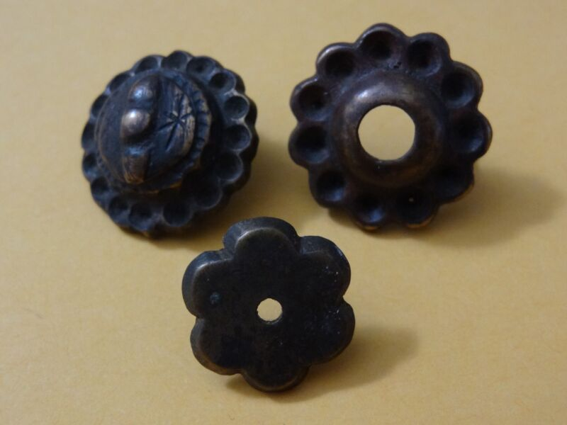 ANCIENT MONGOLIAN BRONZE  VARIOUS ORNAMENTS DECORS