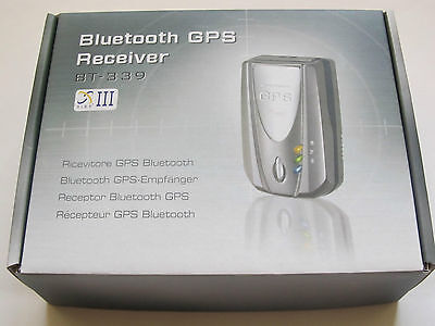 Brand New Telenav Bluetooth BT-339 GPS Receiver with SiRF StarIII Chipset