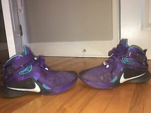 LeBron 9 Soldier and Air Force 1