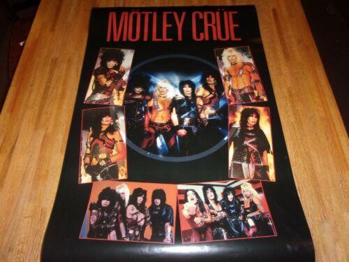 Motley Crue : Shout At The Devil Era Poster  Tommy Lee Vince Neil 2019