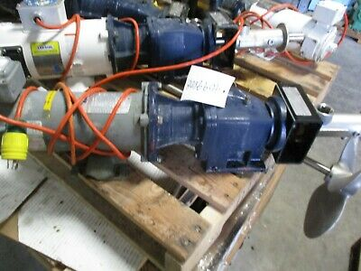 Seepex Pump With Motor And Nord Unicase Gear Reducer 409900b Used